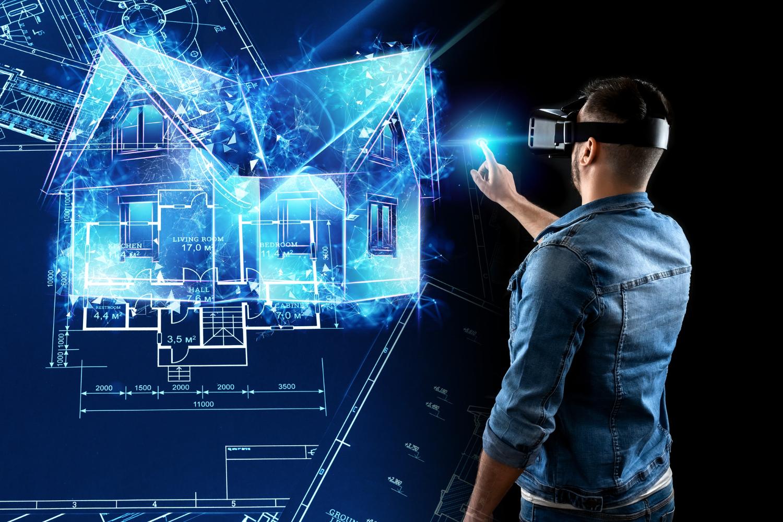 man-virtual-reality-glasses-designs-building-hologram-house