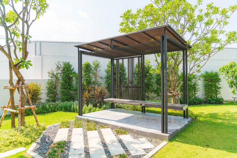 Various ideas for interior design of the home garden