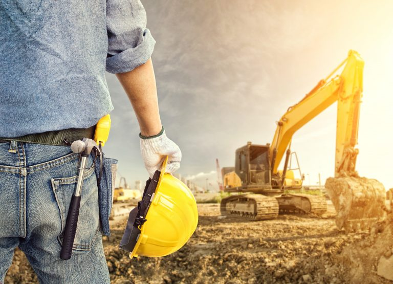 What are the main sectors in the construction industry?